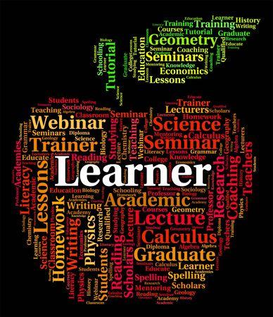 learner: Learner Word Representing Study School And Tutoring