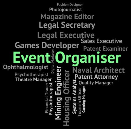 supervisores: Evento Organizador Significado de texto supervisores y Función