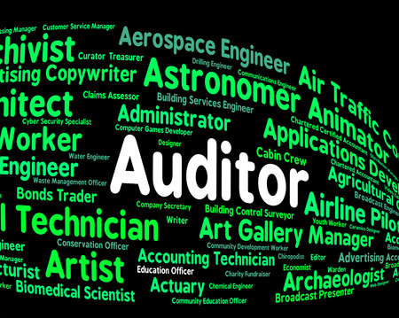 auditor: Auditor Job Showing Position Occupation And Inspectors