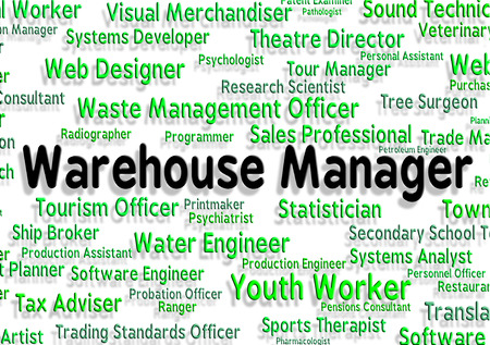 depository: Warehouse Manager Meaning Executive Head And Depository Stock Photo