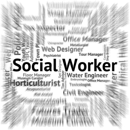 blue collar: Social Worker Meaning Blue Collar And Operator
