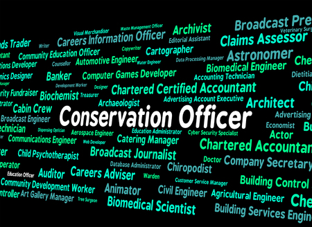 earth friendly: Conservation Officer Showing Earth Friendly And Occupations