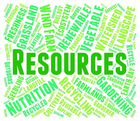 collateral: Resources Word Meaning Raw Materials And Text