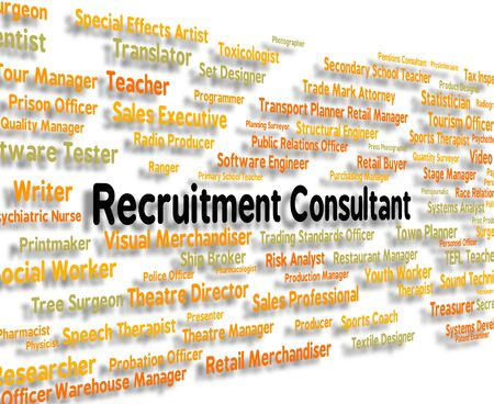 advisers: Recruitment Consultant Indicating Specialist Guide And Consultation