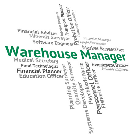 stockroom: Warehouse Manager Meaning Word Depository And Position