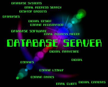 database server: Database Server Meaning Computer Servers And Databases