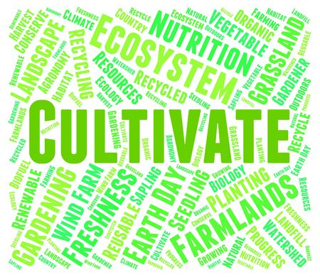sows: Cultivate Word Representing Grows Words And Growth