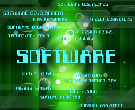 Software Word Meaning Technology Application And Computer