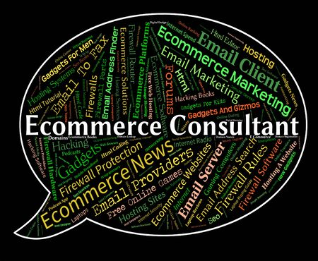 advisers: Ecommerce Consultant Representing Online Business And Biz