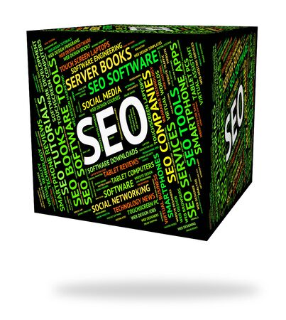 optimized: Seo Word Representing Web Optimized And Websites