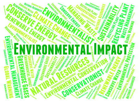consequence: Environmental Impact Indicating Earth Consequence And Word