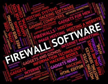no access: Firewall Software Meaning No Access And Application