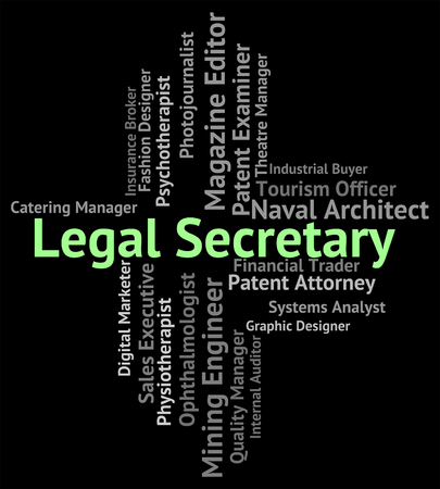counsel: Legal Secretary Representing Queens Counsel And Position