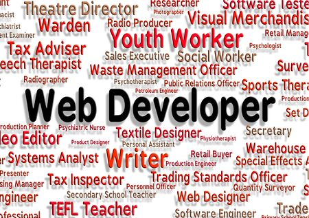 web developer: Web Developer Meaning Develops Text And Career