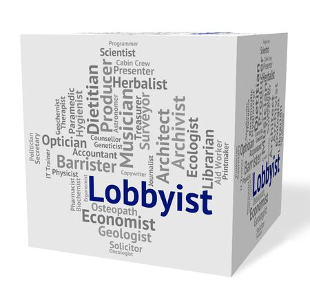 Lobbyist Job Indicating Word Experts And Career