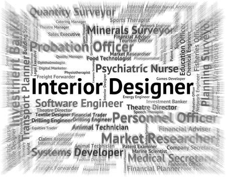 interior designer: Interior Designer Meaning Designing Ornamentation And Adornment