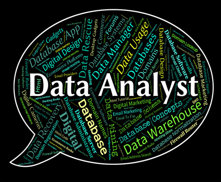 analyst: Data Analyst Representing Text Analysers And Analysis