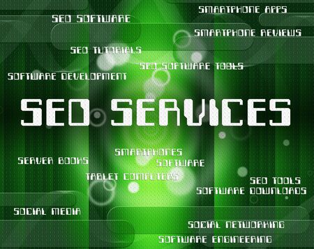 seo services: Seo Services Indicating Help Desk And Words