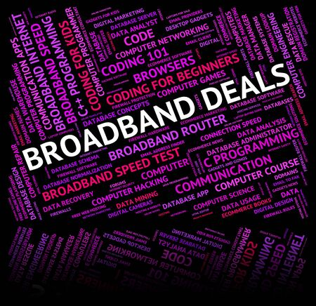 technology transaction: Broadband Deals Meaning World Wide Web And Computer Network