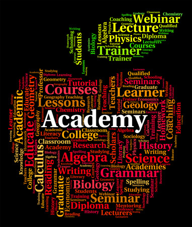 academy: Academy Word Meaning College Schools And Text