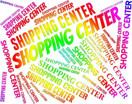 commercial activity: Shopping Center Indicating Commercial Activity And Arcade