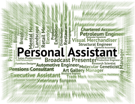 confidentially: Personal Assistant Representing Privacy Employment And Word