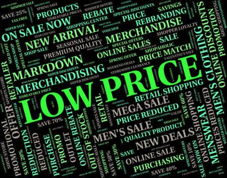 Niedriger Preis Darstellen Aufmerksam günstig und Text