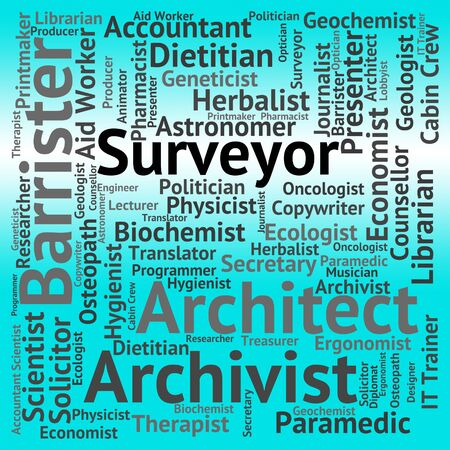 surveyor: Surveyor Job Representing Surveyors Jobs And Occupation