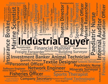 manufactured: Industrial Buyer Showing Jobs Position And Manufactured