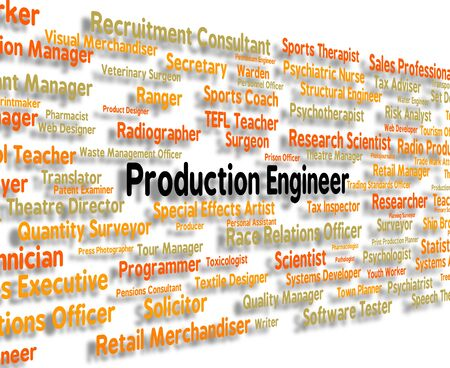 production engineer: Production Engineer Representing Manufacture Career And Recruitment