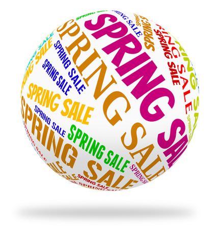 spring tide: Spring Sale Representing Closeout Discounts And Bargains