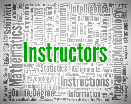 word lesson: Instructors Word Meaning Learn Taught And Lesson