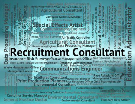autoridad: Recruitment Consultant En representación Guía de reclutamiento y Autoridad