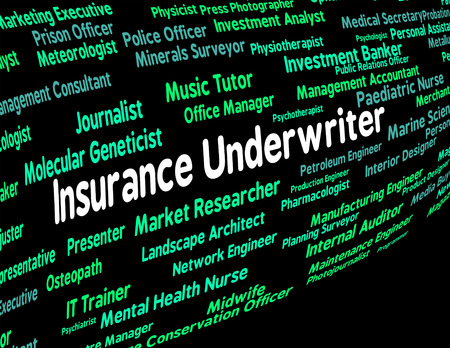 underwriter: Insurance Underwriter Indicating Policies Patron And Benefactor