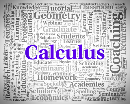 calculate: Calculus Word Meaning Text Addition And Calculate