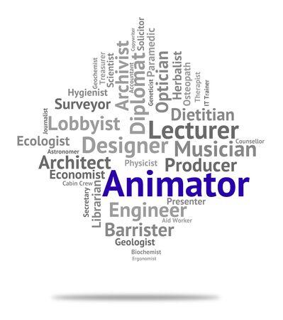employ: Animator Job Representing Jobs Work And Career