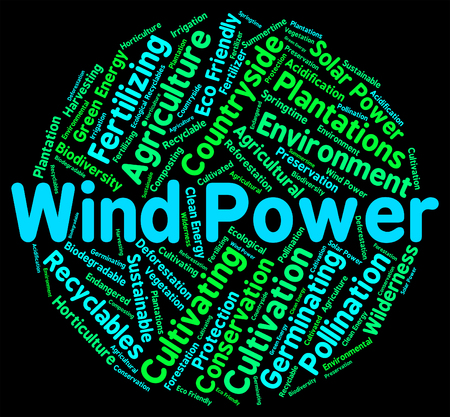 wind farm: Wind Power Indicating Renewable Resource And Environment