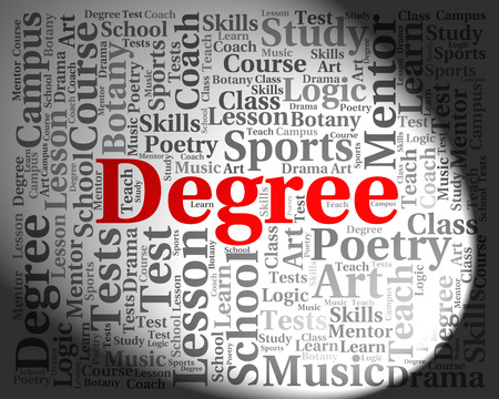 qualifications: Degree Word Meaning Qualification Associates And Text