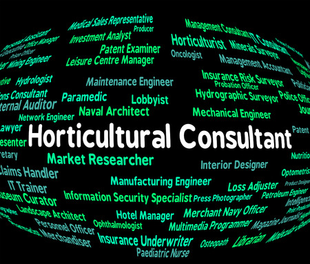 horticultural: Horticultural Consultant Representing Advisers Work And Authority