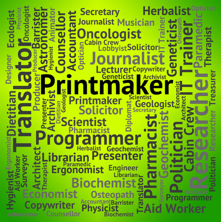 lithography: Printmaker Job Meaning Design Position And Lithography