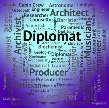 attache: Diplomat Job Showing Recruitment Hire And Career