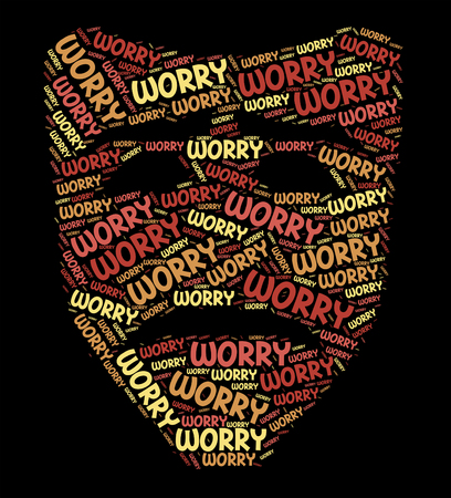 worked: Worry Word Meaning Ill At Ease And Worked Up
