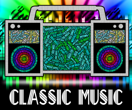 uitstekend: Classic Music Meaning First Rate And Excellent