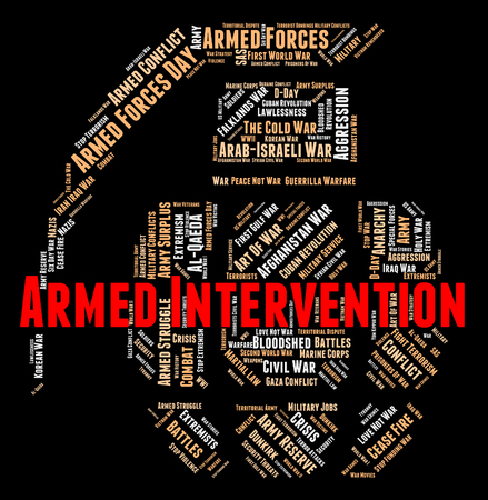 armed: Armed Intervention Meaning Involvement Firearm And Firearms