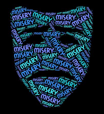crestfallen: Misery Palabra Significado Baja Spirited Y Dismal