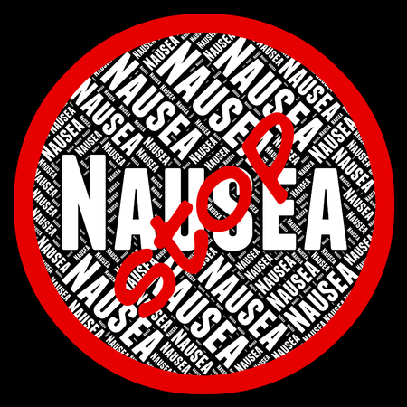 nauseous: Stop Nausea Showing Motion Sickness And Prohibit