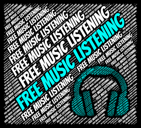 freebie: Free Music Listening Indicating For Nothing And Sound