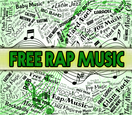 Free Rap Music Showing No Charge And Harmony