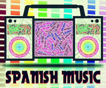 latin american: Spanish Music Showing Latin American And Classical