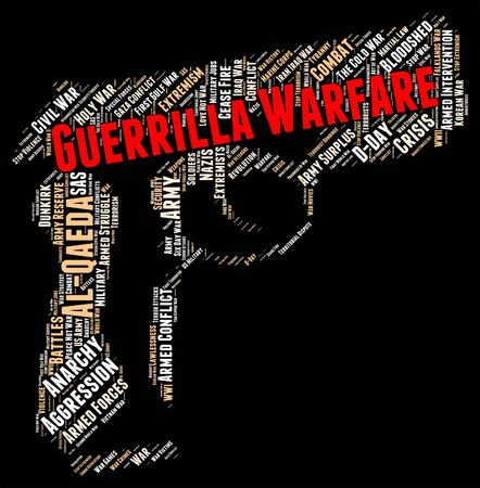 guerrilla: Guerrilla Warfare Showing Resistance Fighter And Fights